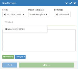 Cloud SMS - Send SMS online